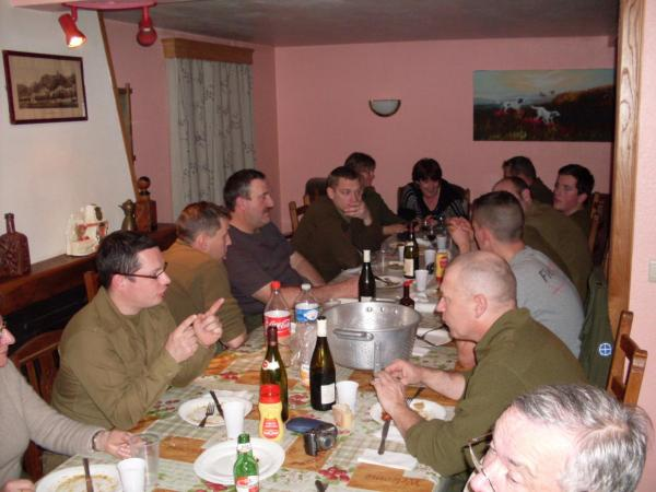 Petite tablée Bastogne  2011